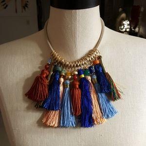 """NWOT Tassle Necklace 16"""" +"""